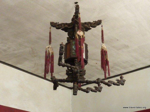 19-Qiao Family House 31 nine dragon lamp