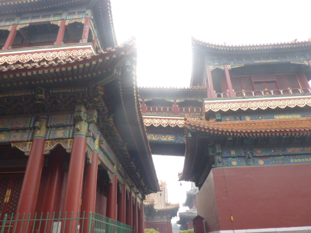21 bridge across Lama Temple