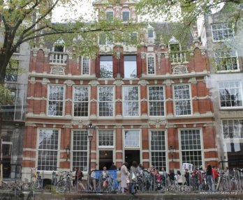 Very grand house along the Herengracht